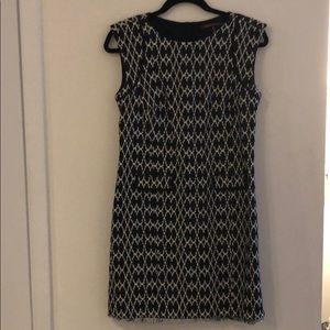 Sleeveless dress perfect for work!